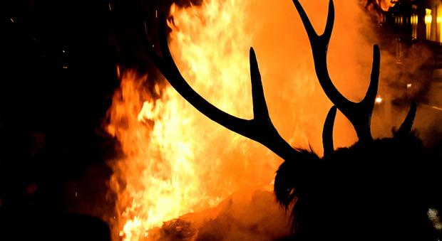 La Festa del Cervo di Castelnuovo a Volturno, l'antico Carnevale dell'Appennino