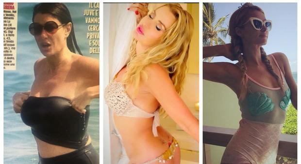 Prova costume, anche le vip sbagliano: quando il bikini è un disastro
