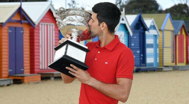 Djokovic, nel mirino il record di Federer: è da 309 settimane il numero 1 al mondo