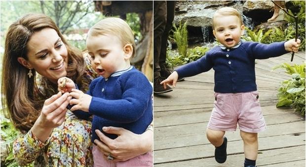 Louis d'Inghilterra muove i primi passi: il figlio di Kate e William insieme ai fratelli