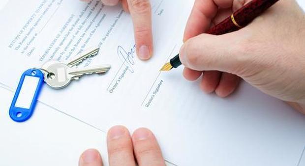 immagine Contratto d'affitto, la registrazione è anche online