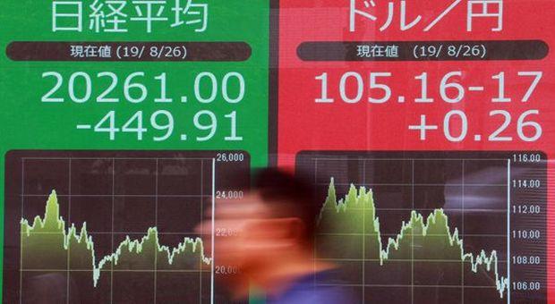 Tokyo e Cina chiudono in rialzo ma non scemano ansie per Coronavirus