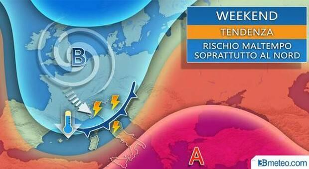 Estate addio, afa fino a venerdì poi temperature in picchiata e temporali