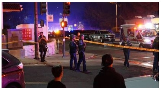 Los Angeles, armato fa irruzione in un bar e spara: «Tredici morti»