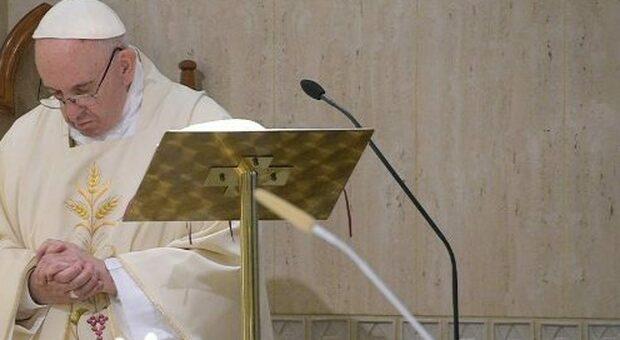 Papa Francesco: «In nome di Dio basta bombe a Gaza»
