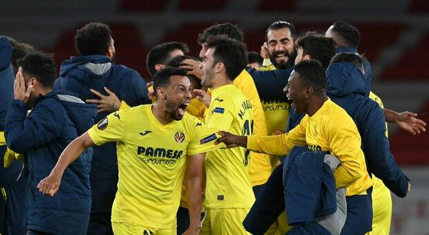L'altra finalista è il Villarreal, a Londra resiste sullo 0-0, Unai Emery resta lo specialista. Due pali di Aubameyang per l'Arsenal