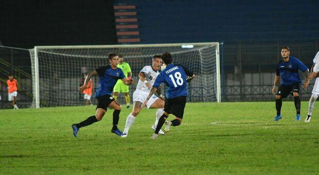Il Latina Calcio 1932 in azione