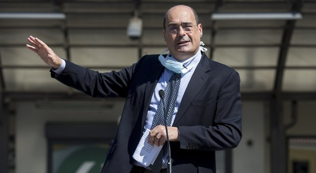 Virus, Zingaretti: «Se questo governo non ce la fa, si va al voto»