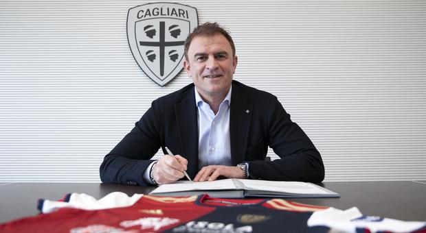 Cagliari, ufficiale l'esonero di Di Francesco. Ora l'annuncio di Semplici Foto: twitter Cagliari