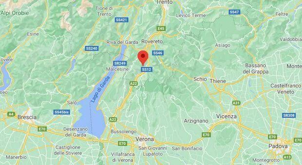 Terremoto vicino Trento, scossa di magnitudo 3.2: boom di segnalazioni da Rovereto