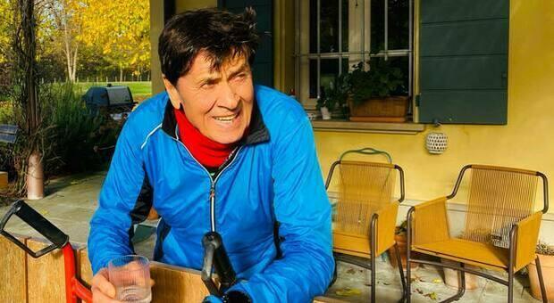 Gianni Morandi, incontro spiacevole durante la corsa: «Mi sono toccato dove sapete...»