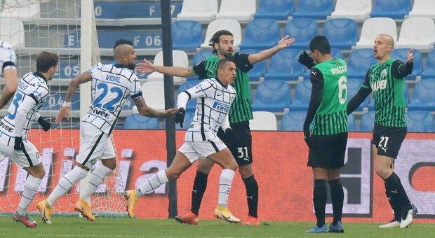 Sassuolo-Inter La Diretta dalle 15 Conte contro la bestia nera (e verde)