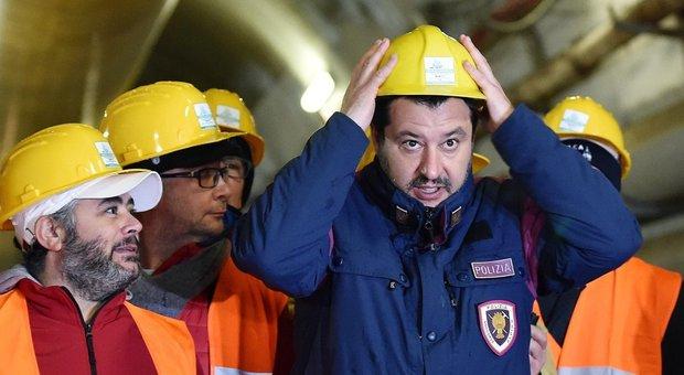 Salvini boccia Di Maio sulla Tav: «Grandi opere, piano Marshall»