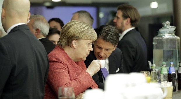 Conte confida alla Merkel: