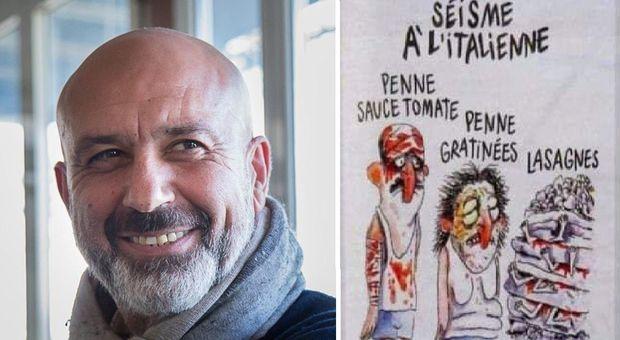 L'ironia macabra di Charlie Hebdo sul rogo di Notre Dame