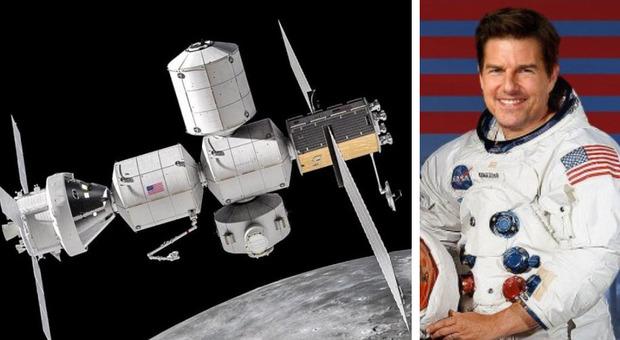 Spazio, attorno alla Luna con la nuova stazione spaziale in attesa di Tom Cruise