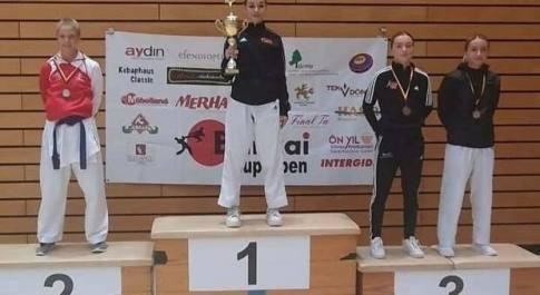 Karate, a Berlino nuovo successo internazionale di Anita Pazzaglia