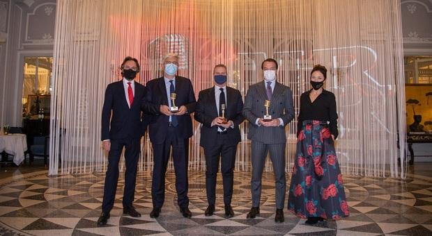 Turismo, Giorgio Palmucci (Enit), Giuseppe De Martino (St. Regis Rome) e Paolo Garlando (Italy Best Golf) vincono gli Mhr Awards