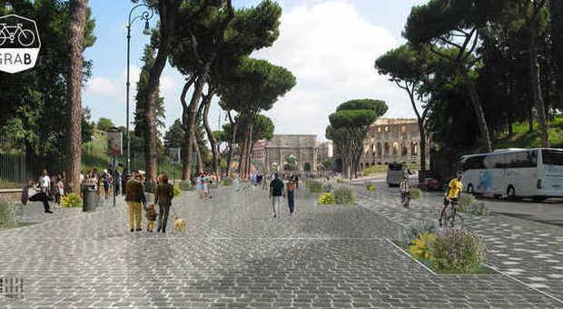 Dal Colosseo al Parco dell'Appia Antica con il Grab, grande raccordo anulare delle bici