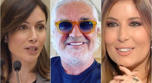 Mara Carfagna e Selvaggia Lucarelli: «Stop commenti osceni su Flavio Briatore»