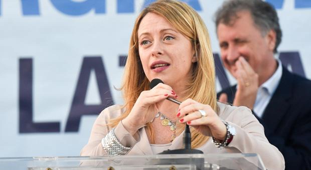 Bibbiano, Giorgia Meloni: «Qui per difendere bambini e famiglie. La sardine? Strumento del Pd»