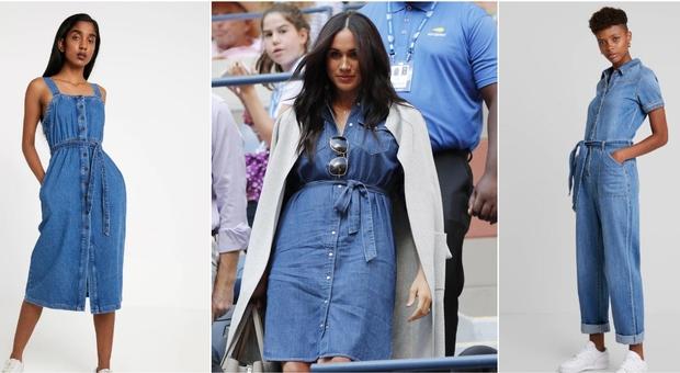 promo code 05c53 a6fc5 Tendenze moda 2019, il vestito di jeans (o la tuta) tornano ...