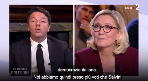 Renzi a Le Pen, 'lei non conosce Italia'