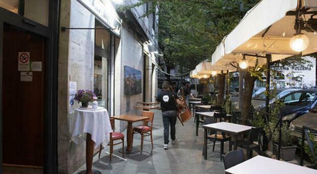 Covid Roma, bar e ristoranti sul lastrico: «Perso un milione al giorno». Allarme in Centro