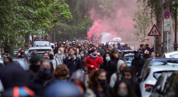 Primo maggio, folla in strada a Berlino