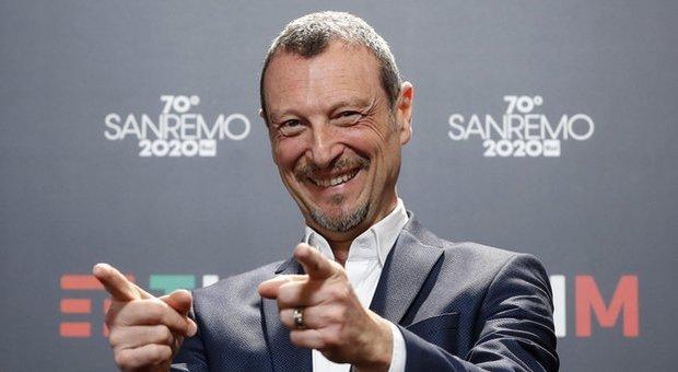Amadeus, conduttore e direttore artistico di Sanremo 2020