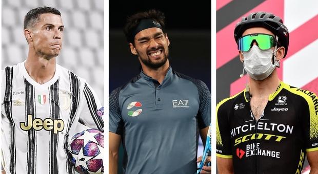 Calcio, tennis e ciclismo: niente dribbling al Covid. Ora lo sport teme lo stop