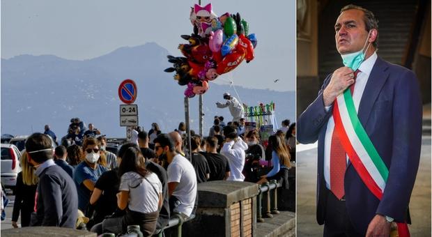 Covid Napoli, De Magistris: «Solo lockdown può salvarci». Ospedali al collasso