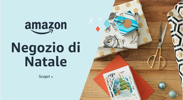 Amazon, arriva il Negozio di Natale: dalle decorazioni ai regali per i più piccoli