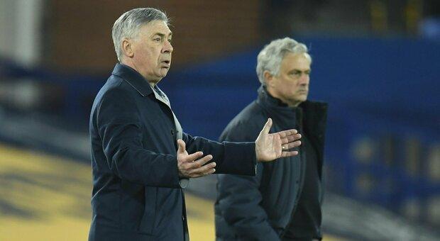 Ancelotti e Mourinho