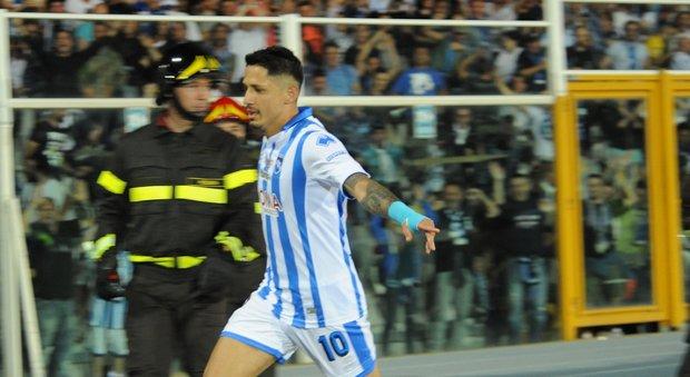 Gianluca Lapadula, classe 1990, attaccante del Pescara