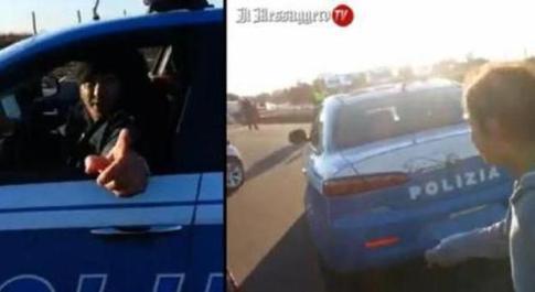 Roma, auto della polizia in mano ai nomadi: su Facebook un video con sgommate e risate alla guida della volante
