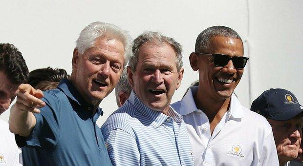 USA, Covid: Obama, Bush e Clinton pronti a vaccinarsi in diretta tv.