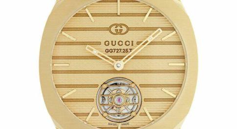Gucci, ore preziose tra api e leoni: oro e acciaio, tourbillon e diamanti