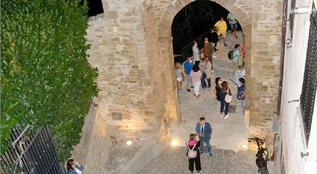 Lanciano, Porta San Biagio torna all'antico splendore: l'unico accesso storico alla città