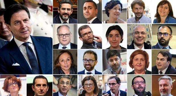 Ministri, la lista completa del Conte bis: 10 M5s, 9 Pd, uno Leu e un tecnico, le donne sono 7
