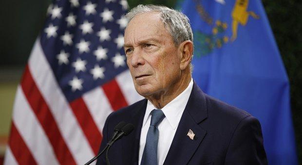 Usa, l'annuncio di Bloomberg: «Mi candido per battere Trump. E lo farò gratis»