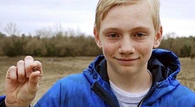Quattordicenne trova diamante prezioso Foto: Crater of Diamonds State Park