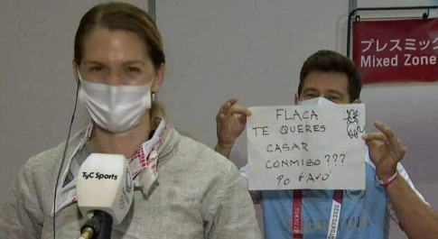 Mari Belen Perez Maurice, proposta di matrimonio dal coach dopo la sconfitta alle Olimpiadi