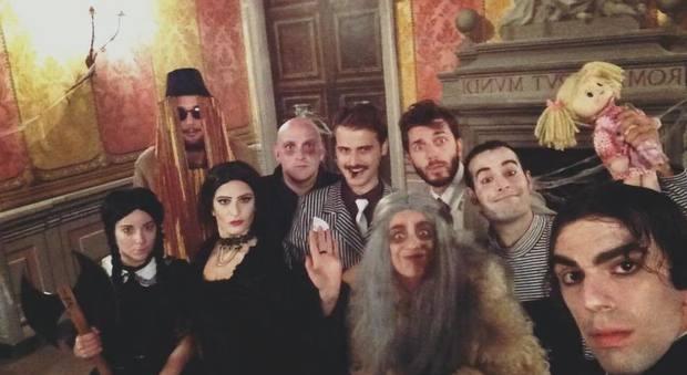 Nella casa della famiglia Addams