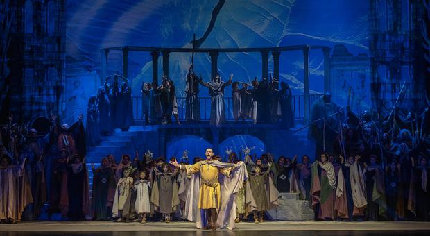 Attila, regia di Enrico Stinchelli, direzione musicale di Donato Renzetti