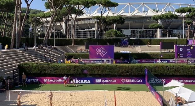 Beach Volley, al via le Rome Finals nella magia del Foro Italico