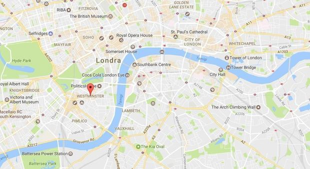Londra Spari Davanti A Parlamento LA MAPPA
