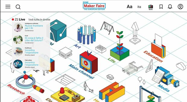 Maker Faire Rome, la fiera dell'innovazione diventa digitale