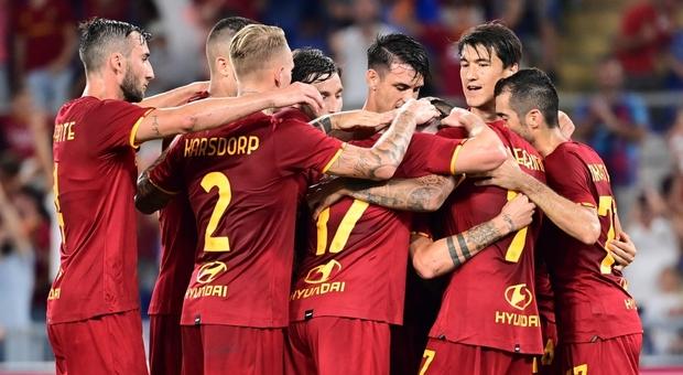 Roma, a Salerno per diventare squadra. Mourinho promuove l'11 della prima di campionato