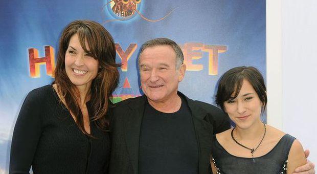 Robin Williams, battaglia legale per l'eredità tra moglie e figli